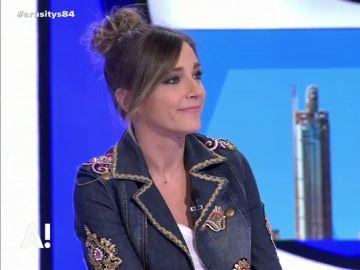 La presentadora Anna Simon
