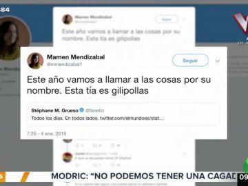 El tremendo 'zasca' de Mamen Mendizábal a la ministra de Familia de Brasil