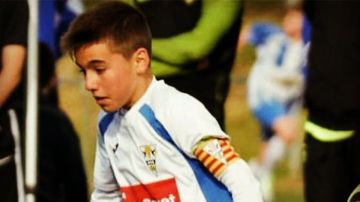 Àlex Parera, jugador del Infantil B del Granollers