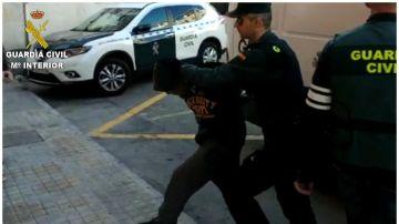 Imagen de uno de los detenidos por la agresión sexual en Callosa