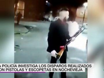 Celebran la Nochevieja a tiros en Valladolid