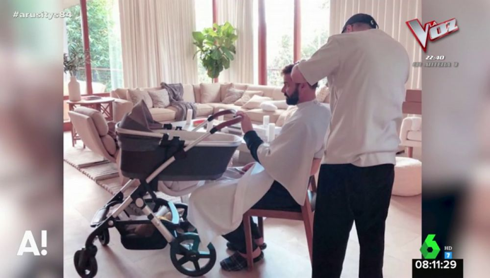 La imagen más natural de Ricky Martin con su hija Lucía