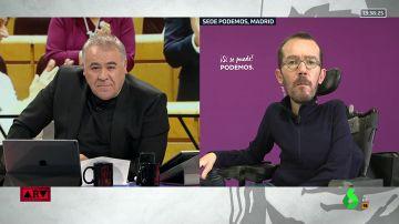 """Pablo Echenique: """"Si se cumplen las medidas que acordamos con el PSOE, aprobaremos los Presupuestos"""""""