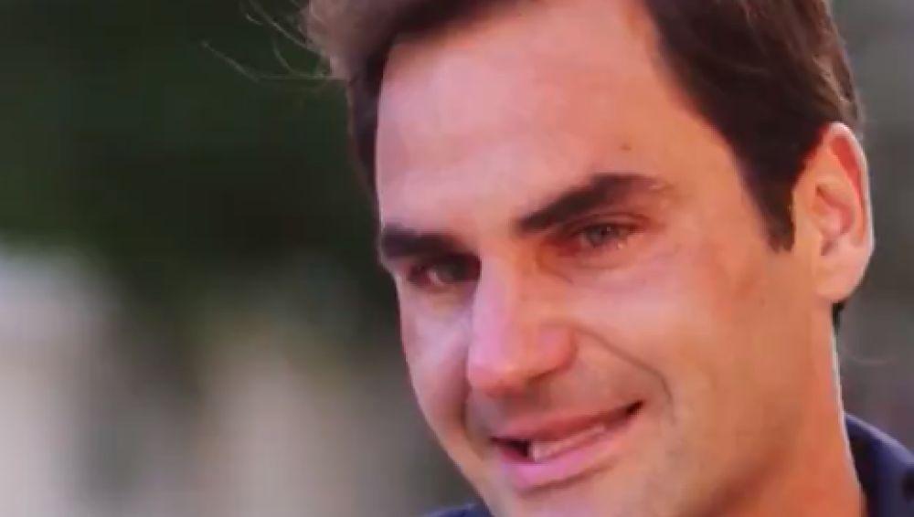 La entrevista que hizo llorar a Roger Federer