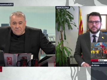 """Pere Aragonès, sobre el apoyo a los PGE: """"Debemos saber si la propuesta de Sánchez es sacar el conflicto catalán de los tribunales"""""""
