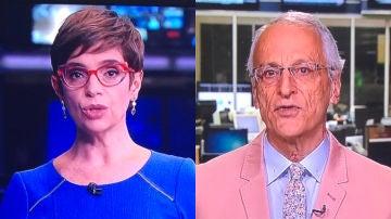 Renata Lo Prete y Jorge Pontual