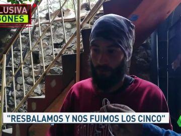 """Hablamos en exclusiva con el único superviviente de la avalancha en los Andes peruanos: """"Lo más duro ya pasó, ahora toca aceptarlo"""""""