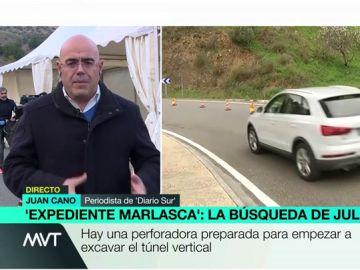 Imagen del periodista Juan Cano