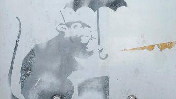 El graffiti hallado en Tokio