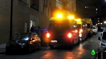 Lugar donde encontraron a una niña de nueve años muerta en Bilbao