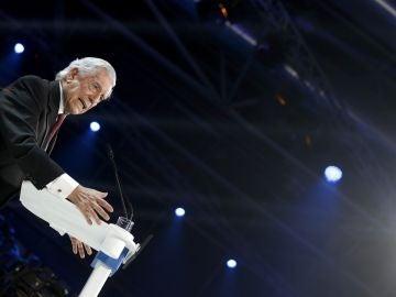 Mario Vargas Llosa en la convención del PP