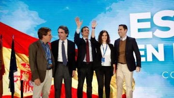 Pablo Casado en la convención del Partido Popular
