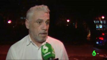 El conductor VTC agredido por taxistas en Barcelona