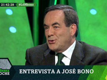 """José Bono: """"Echenique no era comunista, era de Ciudadanos, que a veces se olvida"""""""