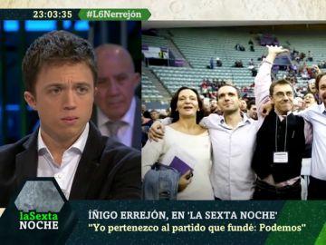 El titular que le da Íñigo Errejón a esta imagen de los fundadores de Podemos: ya sólo queda Pablo Iglesias