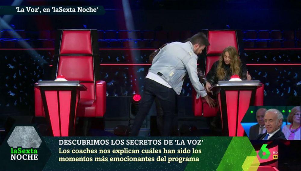 Lo que no sabías de Paulina Rubio y su asiento en La Voz: este es el secreto que esconde su sillón