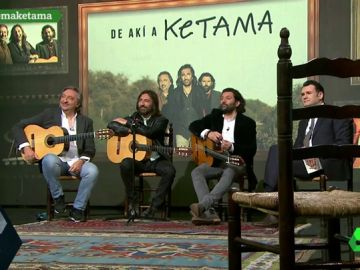 """Las reivindicaciones de los Ketama en laSexta Noche: """"En la política hace falta un poco del respeto de la música"""""""