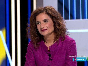 """María Jesús Montero, optimista ante la aprobación de los Presupuestos: """"No descartamos que Ciudadanos los apoye"""""""