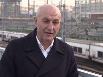 Jesús García, portavoz del Sindicato de Maquinistas