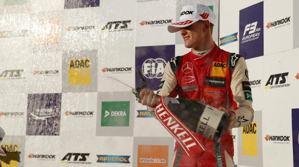 Mick Schumacher Podio 2018 F3