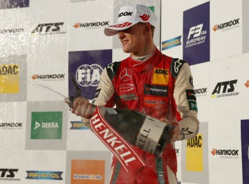 Mick Schumacher Podio 2018 F3