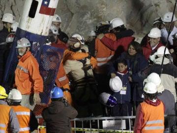 Rescate de los mineros en la mina San José de Chile