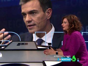 Pedro Sánchez criticó a Rajoy por pedir un préstamo para pagar pensiones y como presidente también lo ha hecho: esta es la explicación de María Jesús Montero