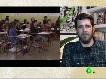 """La dureza que muestra Gonzo en Detrás del muro: """"Niñas con 9 años cuentan que han sufrido su primera violación en casa"""""""