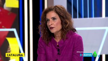 """María Jesús Montero: """"La solución para Cataluña y España llega de la mano de la ley y el diálogo"""""""