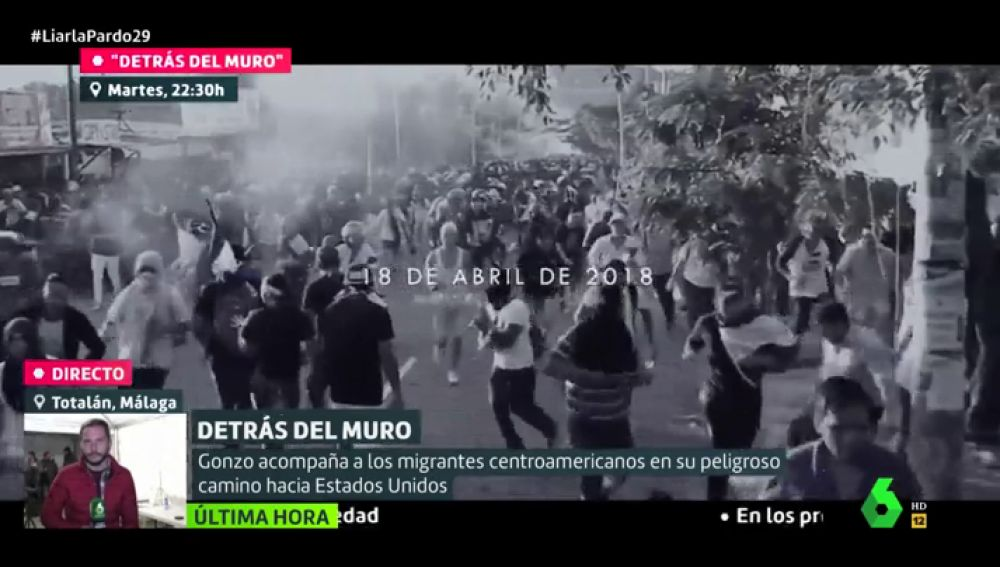 Detrás del muro, documental de Gonzo