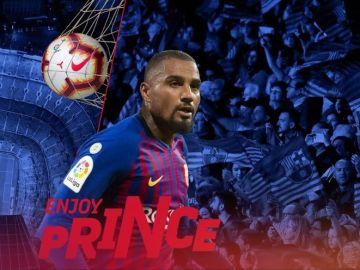 Boateng, nuevo jugador del FC Barcelona