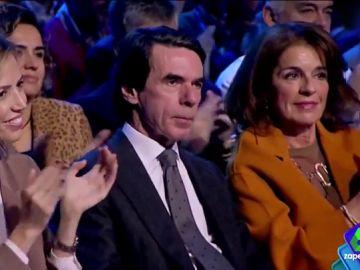 José María Aznar y Ana Botella