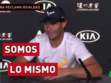 Nadal responde a Serena Williams