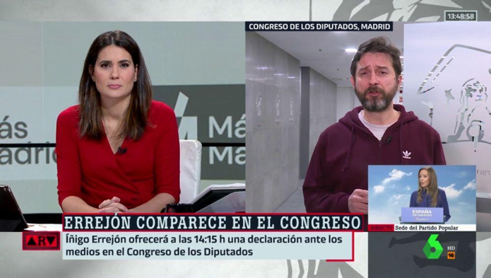 """El 'dardo' de Rafa Mayoral a Errejón: """"Cuando quieres sumar no empiezas restando a tus compañeros"""""""