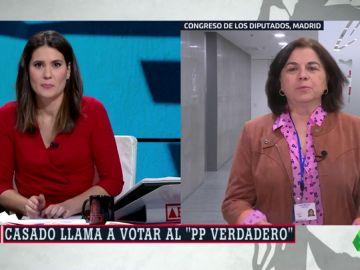 """Lucía Méndez, sobre la convención del PP: """"Llama la atención que Casado haya asumido la tutela del aznarismo"""""""