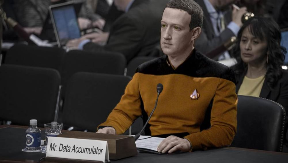 Meme de Mark Zuckerberg
