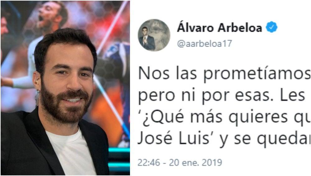 Tuit de Marc Crosas a Álvaro Arbeloa sobre el VAR