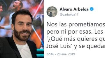 La respuesta de Marc Crosas al tuit de Arbeloa