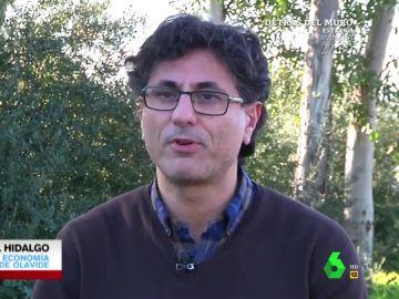 Manuel Hidalgo, profesor de Economía de la Universidad Pablo de Olavide