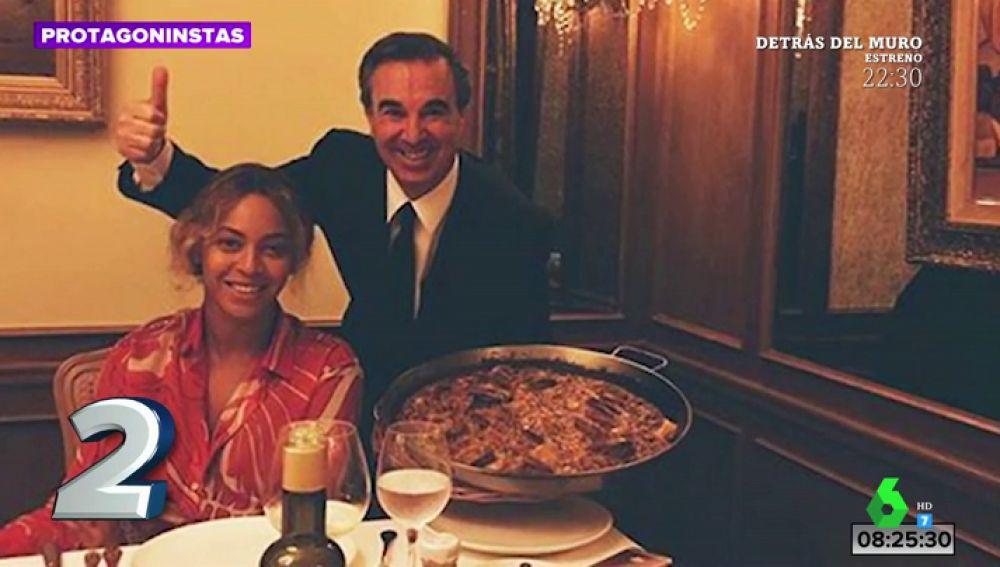 Paella con ketchup y marisco: así fue la visita de Beyonce a Barcelona