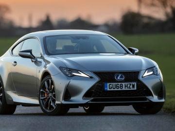 Ya a la venta la renovada gama Lexus RC