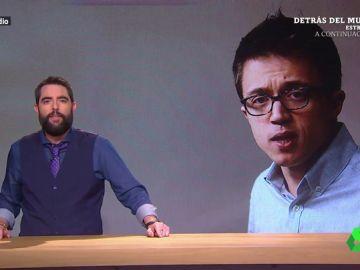 Dani Mateo e Íñigo Errejón