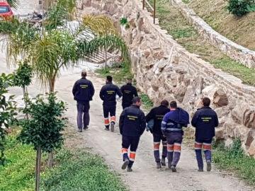 Rescate de Julen: Los mineros rescatadores de Hunosa ya están en el Puesto de Mando Avanzado