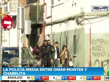 La Policía interviene, alertada por los vecinos, en una discusión entre Omar Montes y Chabelita