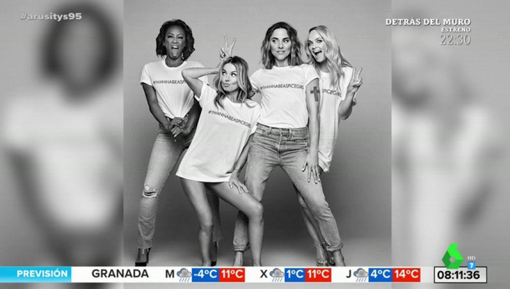 Polémica por las camisetas 'feministas' de las Spice Girls: fueron fabricadas por mujeres que cobraban 39 céntimos por hora