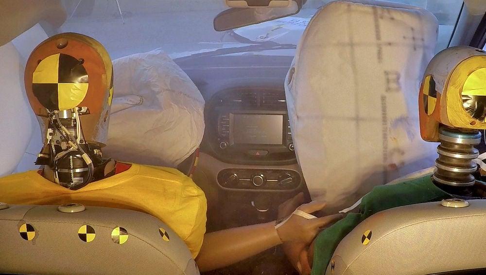 Hyundai trabaja en airbags efectivos en accidentes con colisiones múltiples
