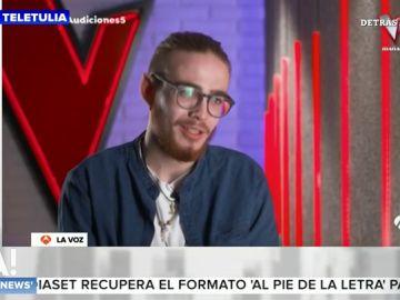 """La historia de superación de Andrés, el músico callejero que ha entrado en 'La Voz': """"He pasado épocas complicadas en mi vida"""""""