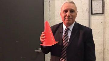 """Stoichkov ataca a Arbeloa con un cono en la mano: """"Este no sabe nada de fútbol"""""""