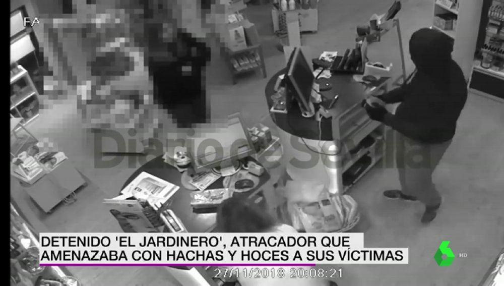 DETENIDO EL JARDINERO
