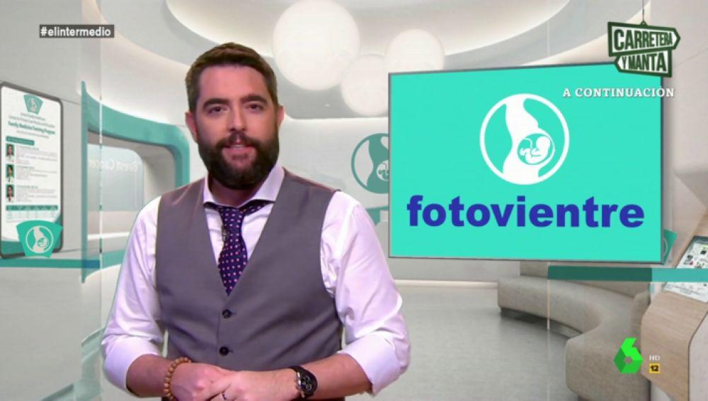 Dani Mateo presenta 'Fotovientre' el El Intermedio